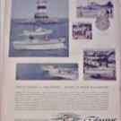 1960 Glasspar Seafair Boat ad