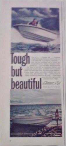 1968 Glasspar Boat ad