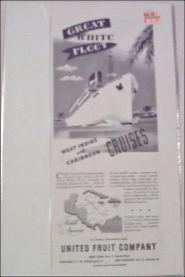 Great White Fleet Cruises ad