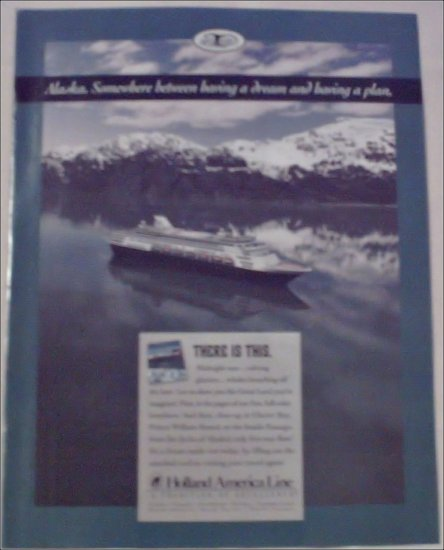 Holland America Line Cruise ad