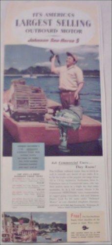 1952 Johnson Sea-Horse 5 Motor ad