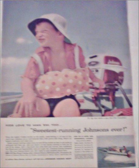 1957 Johnson Motor ad