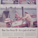 1958 Johnson Sea-Horse 18 Motor ad