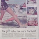 1958 Johnson Sea-Horse V Motor ad