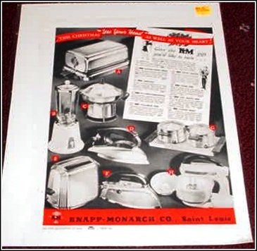 1950 Knapp-Monarch appliances ad