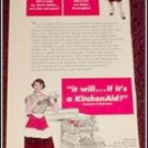1950 Kitchen Aid Dishwasher ad