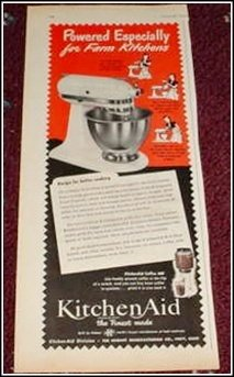 1950 Kitchen Aid Mixer ad