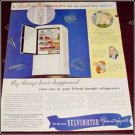 1936 Kelvinator Refrigerator ad