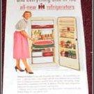 1954 IH Refrigerator ad