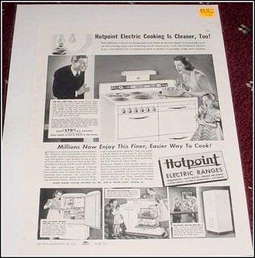 1941 Hotpoint ad