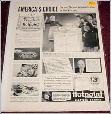 1940 Hotpoint ad