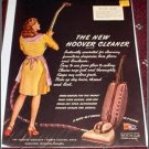 1945 Hoover vacum cleaner ad