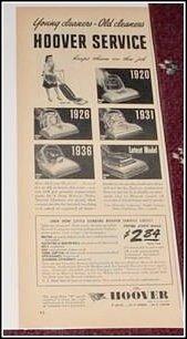 1944 Hoover vacum cleaner ad