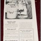 1951 GE Wringer Washer ad