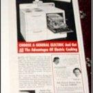 1940 GE Electric Range ad #4