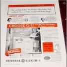 1940 GE Electric Range ad #1