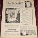 1950 Frigidaire Refrigerator ad