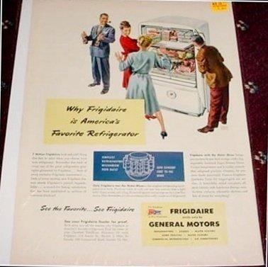 1945 Frigidaire Refrigerator ad