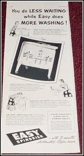 1952 Easy Spindrier ad