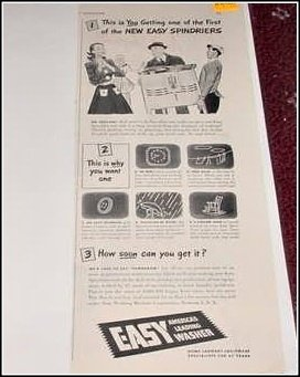 1944 Easy Washing Machine ad