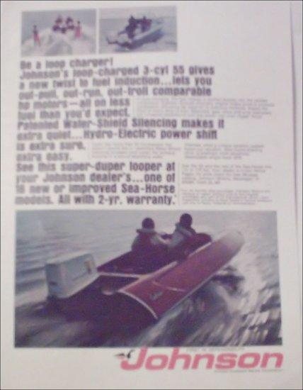 1968 Johnson Loop Charger Motor ad