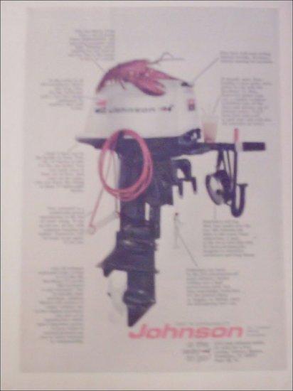1971 Johnson Sea-Horse 25 Motor ad