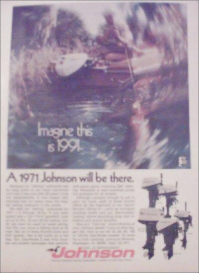1971 Johnson Motor ad