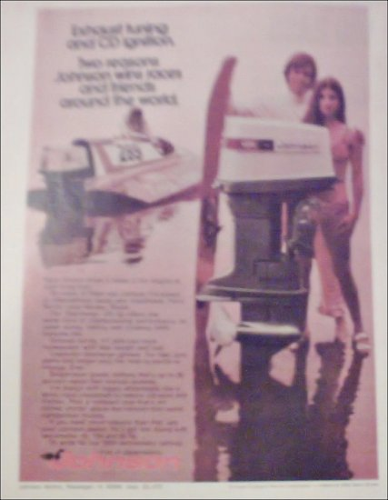 1972 Johnson Sea-Horse 125 Motor ad