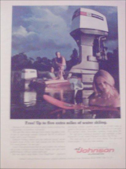1973 Johnson 65 Motor ad
