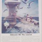 1973 Johnson 50 Motor ad