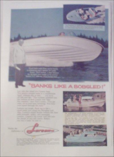 1960 Larson Boat ad