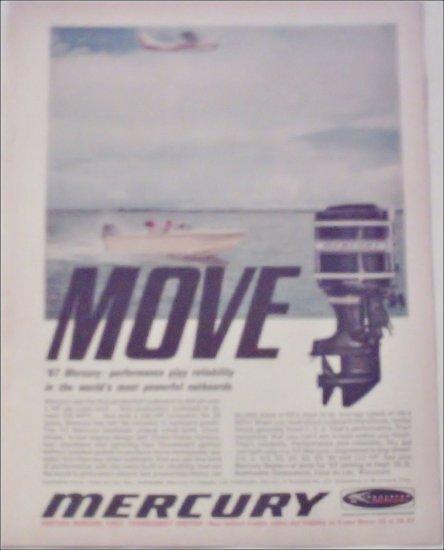 1967 Mercury Motor ad