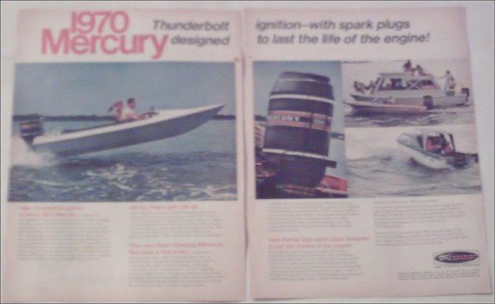 1970 Mercury Thunderbolt Ignition ad