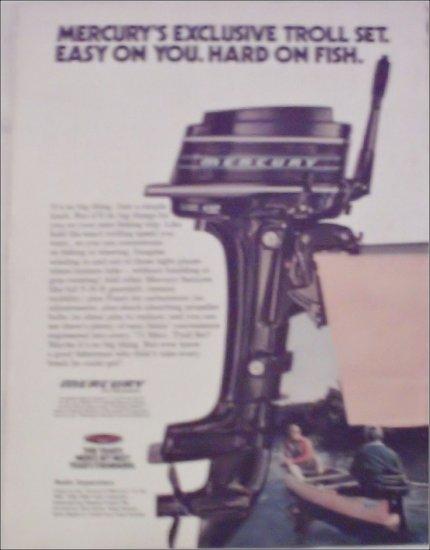 1973 Mercury 4 HP Motor ad