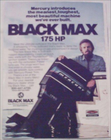 1976 Mercury Black Max Motor ad