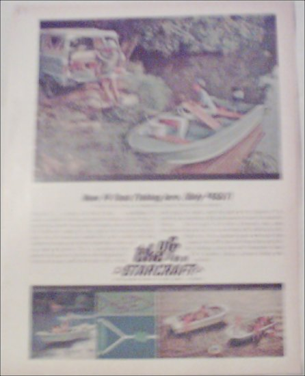 1967 Starcraft Mariner V Boat ad