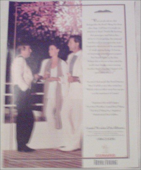 1994 Cunard Royal Viking ad