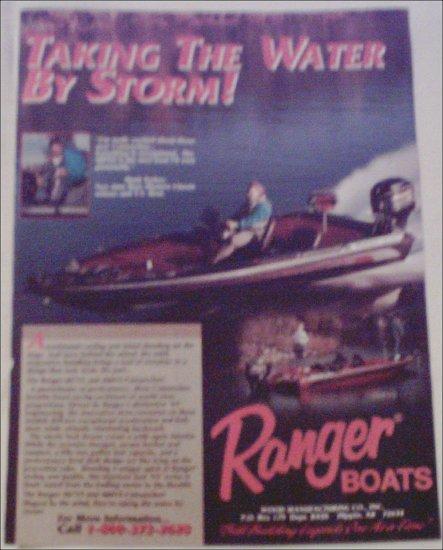 Ranger Comanches Boat ad