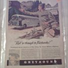 1943 Greyhound Bus Lines ad
