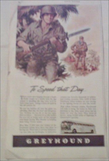1944 Greyhound Bus Lines ad #2