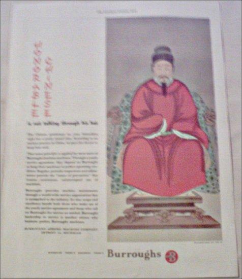 1949 Burroughs Machine ad
