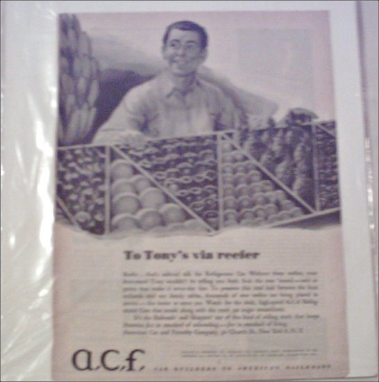 A. C. F. Reefer ad