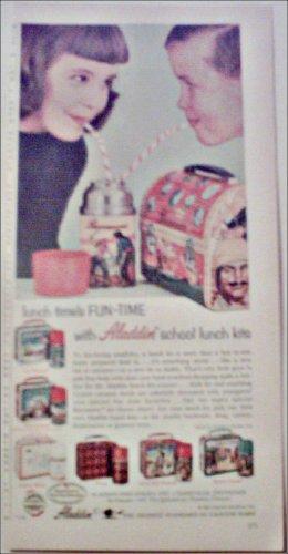 1957 Aladdin Lunch Box ad