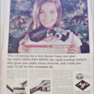1965 Agfa Isoflash-Rapid Camera Christmas ad