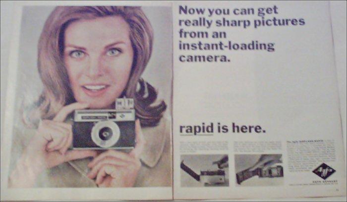 1965 Agfa Isoflash-Rapid Camera ad