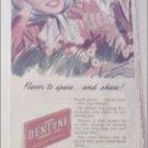 1948 Adams Gum ad featuring Dentyne
