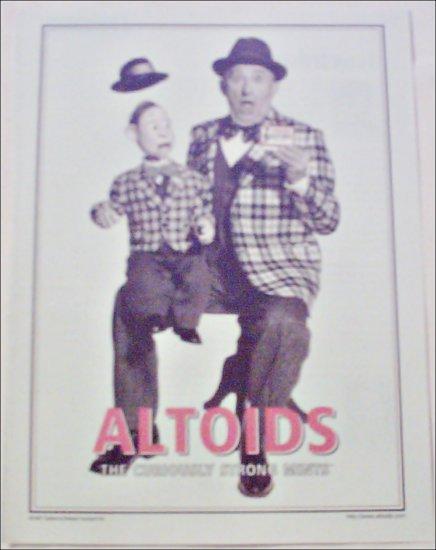 1997 Altoids Mints ad