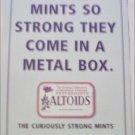 1998 Altoids Mints ad