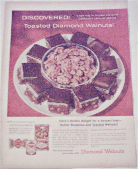 1958 Diamond Walnuts ad