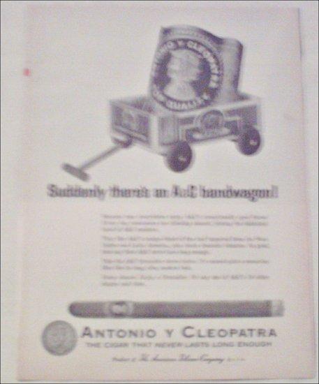 1965 Antonio Y Cleopatra Cigar ad